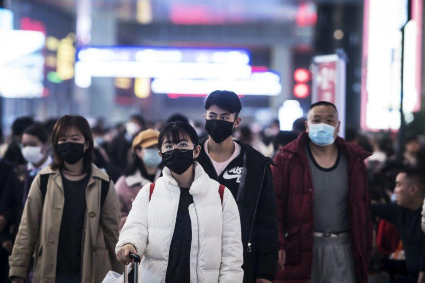 Coronavirus was first detected in China but has spread widely in recent weeks.