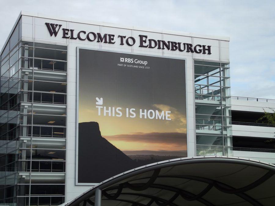 Edinburgh Airport: A new machine will translate languages.