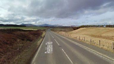 A701 Peebles Road between Penicuik and Leadburn.