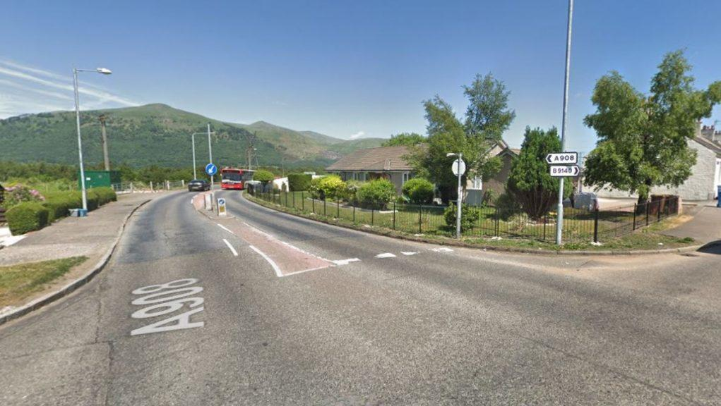 Clackmannanshire: The road between Fishcross and Marchglen was closed for around nine hours.