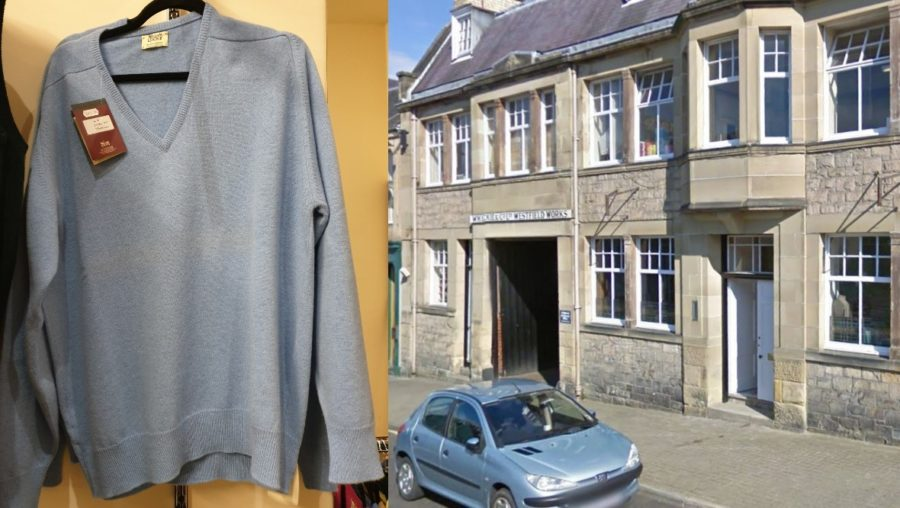 Hawick: Jumpers and cardigans were stolen.