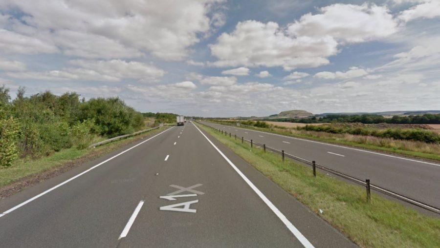Closure: A1 between Haddington and Thistly Cross