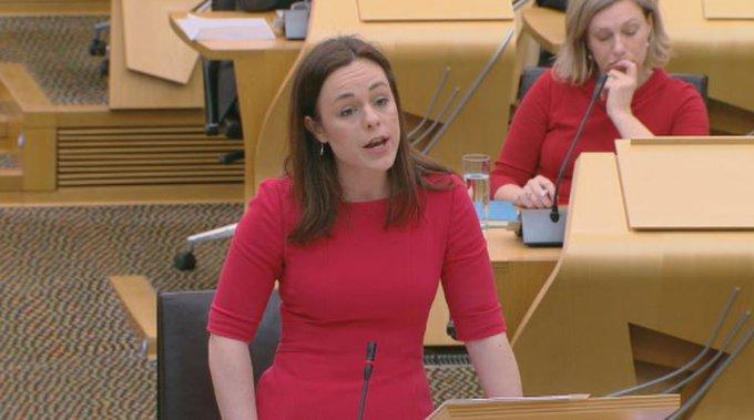 Holyrood: Kate Forbes delivers Scottish Budget after Derek Mackay quits.