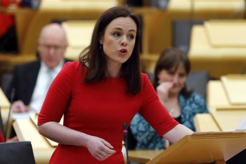 Kate Forbes: New finance secretary 'pleased' with Greens agreement.