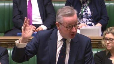 Michael Gove House of Commons February 27 2020.