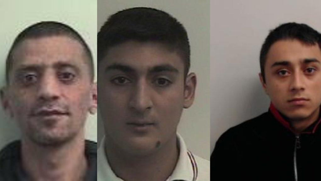 Convicted: The gang targeted a 15-year-old.