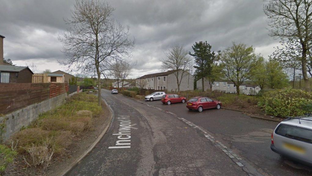 Cumbernauld: The incident happened on Sunday night.