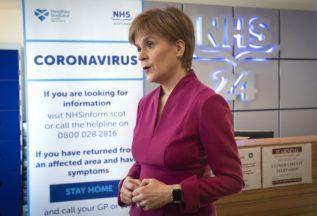 Nicola Sturgeon coronavirus.