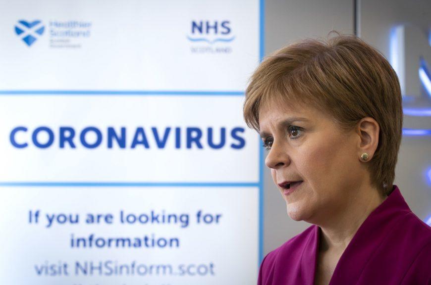 Coronavirus: Sturgeon says all UK governments working closely.