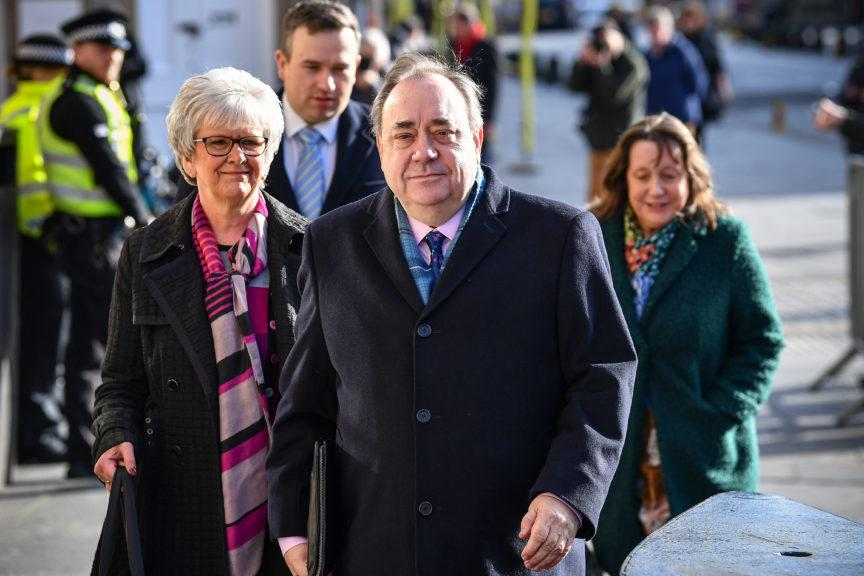 Alex Salmond is due to appear before Holyrood committee on Friday.