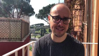 Former MSP Toni Giugliano stranded in Rome due to coronavirus.