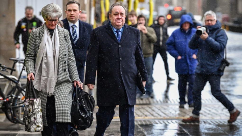Alex Salmond denies 14 charges of sexually assaulting ten women while he was first minister.