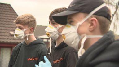 Feldy-roo volunteers in Aberfeldy.