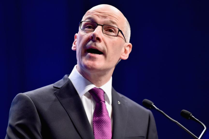 On Monday, the Scottish Conservatives submitted the motion proposing a vote of no confidence in John Swinney.