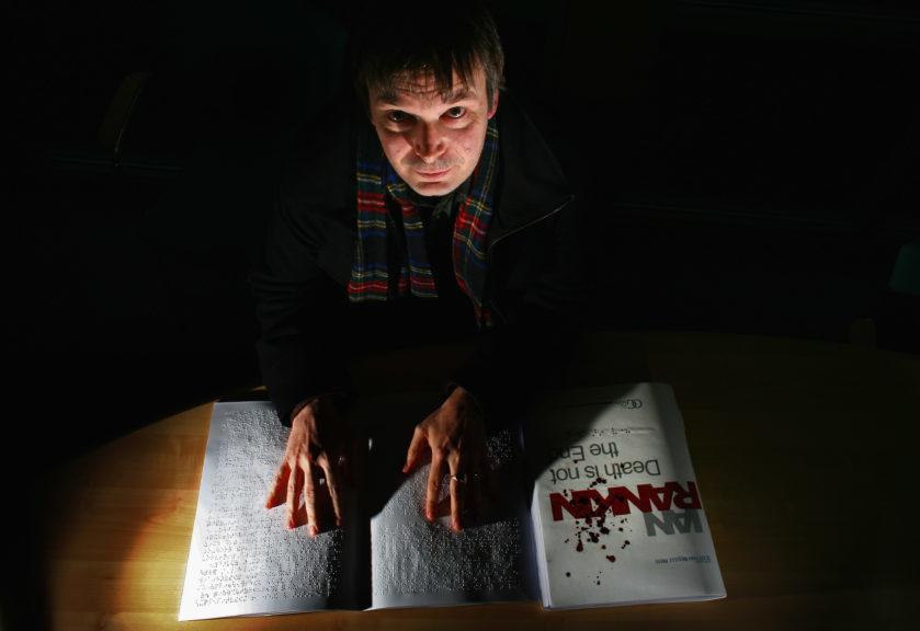 Rebus: Rankin considers writing books on Rebus' past.