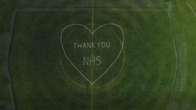 Elgin City sends message of support to the NHS.