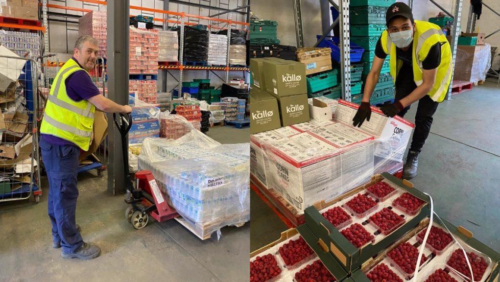 FareShare: The charity distributes surplus supermarket stock.
