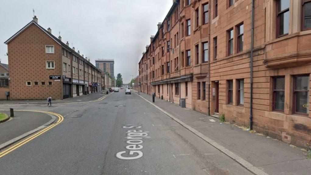 Man was struck on Paisley's George Street, near to Barr Place