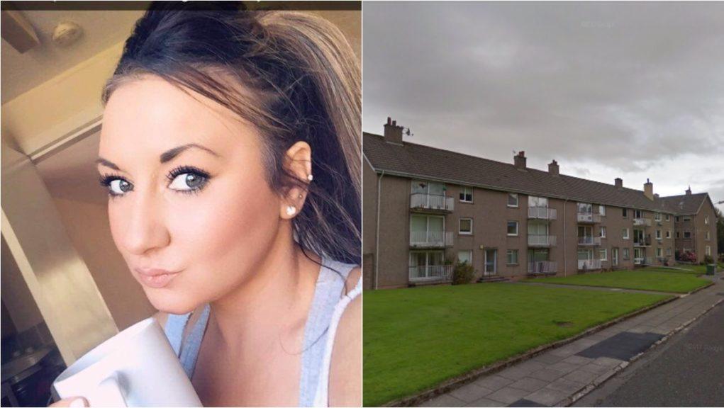 Murder arrest: Louise Aitchison was found dead.