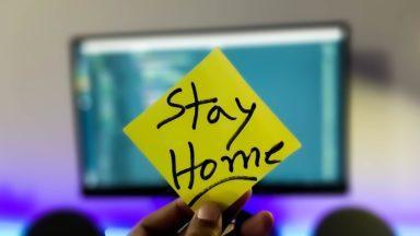 Stay home, coronavirus.