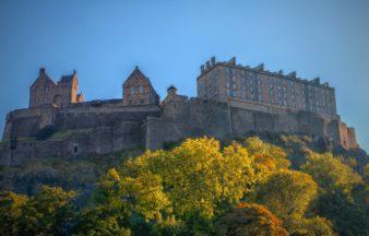 Edinburgh Castle.