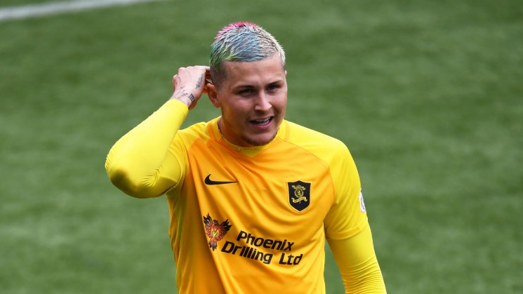 Wanted: Livingston striker Lyndon Dykes is in demand this summer.