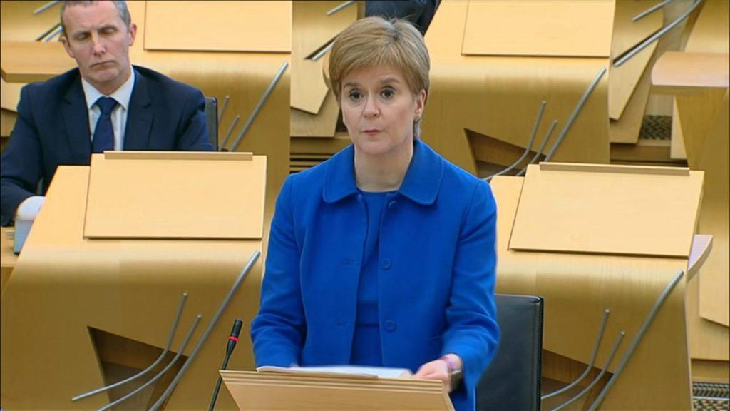 Sturgeon: New restrictions for Scots.
