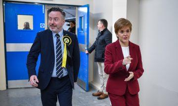 Alyn Smith Nicola Sturgeon Stirling file pic Getty