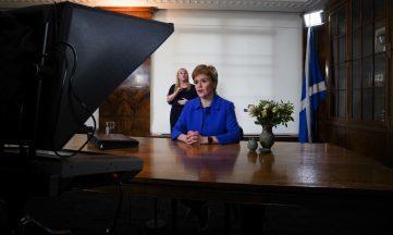 Nicola Sturgeon televised address September 22 2020