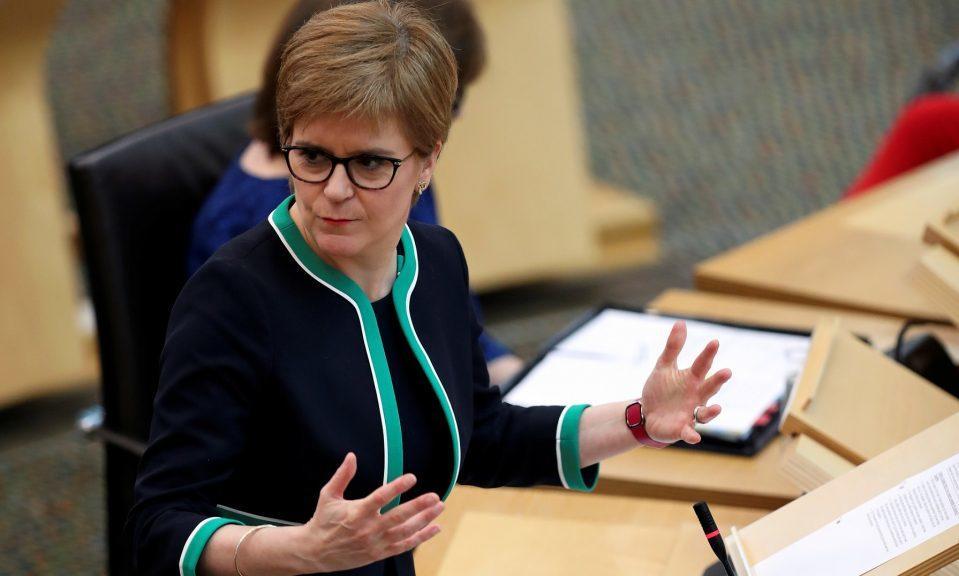 Nicola Sturgeon said Scotland should now chart its own future.