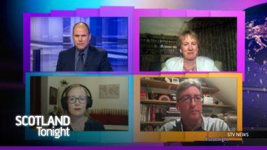 Debate: The Scotland Tonight panel discusses the day's top stories.