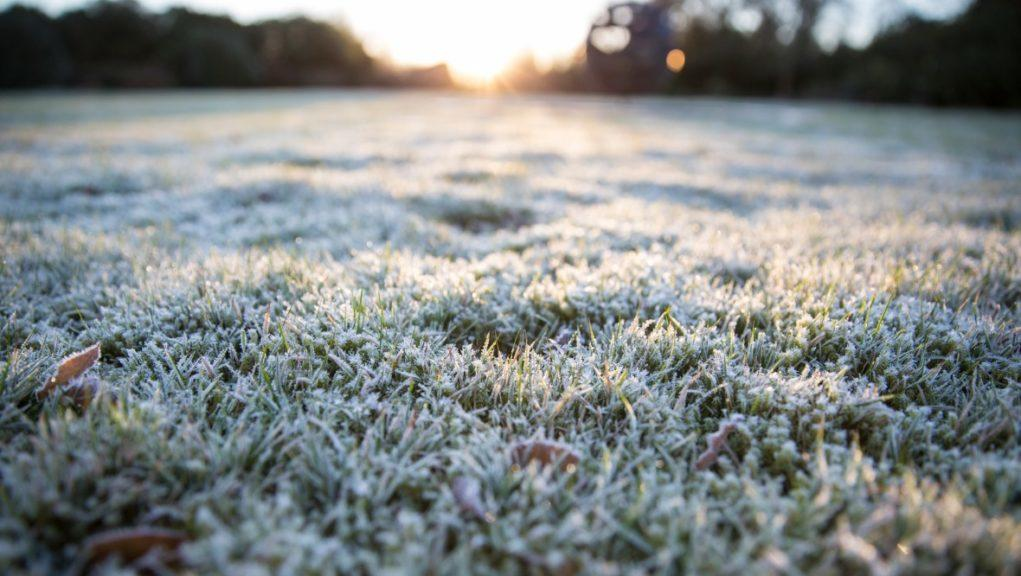 April cools: Areas across the country recorded the coldest April night in around 30 years.