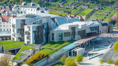 The Scottish Parliament, Holyrood, picture by SNS.