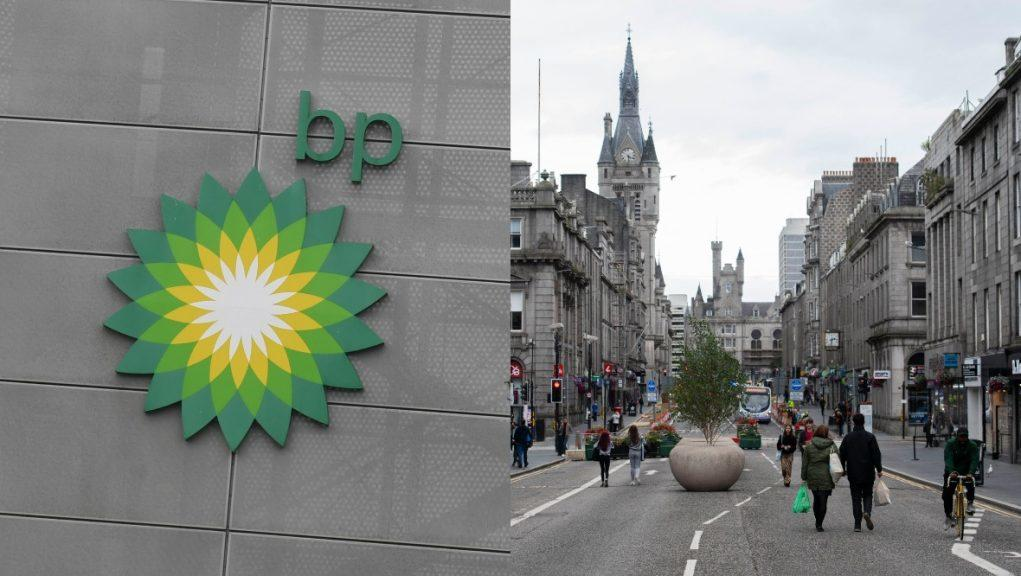 BP has signed deal with Aberdeen City Council.
