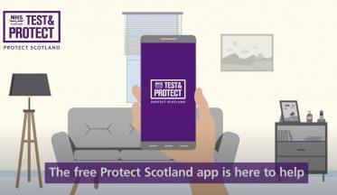 NHS Scotland Protect Scotland proximity contact tracing app