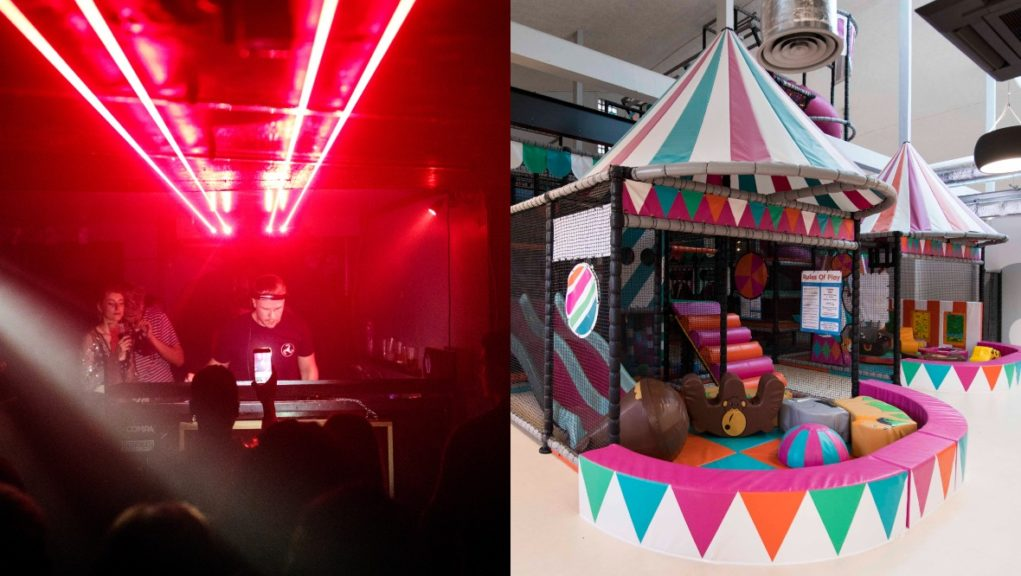 Grants are being made available to nightclubs and soft play centres.