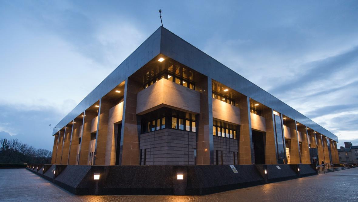 Glasgow Sheriff Court.