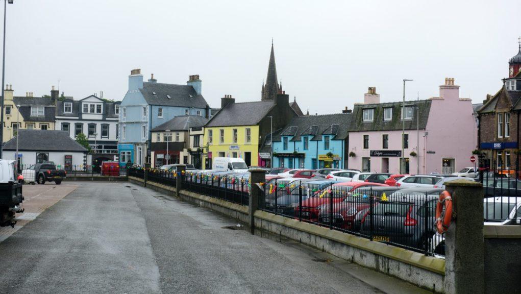 Stornoway on the Isle of Lewis.