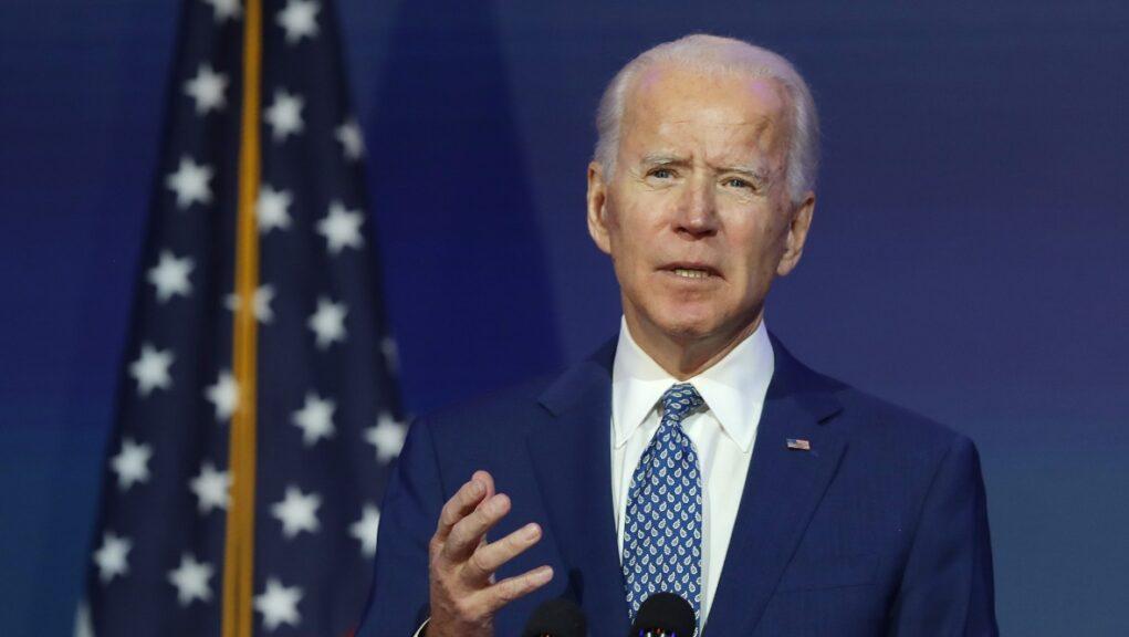 President-elect: Joe Biden invited to COP26 in Glasgow next November.