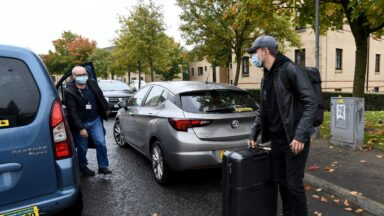 Student leaving university accommodation