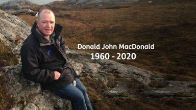Donald John MacDonald passed away suddenly on Christmas Eve.