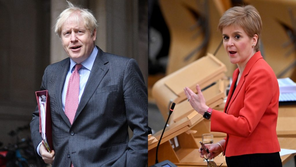 Prime Minister Boris Johnson is visiting Scotland on Thursday.
