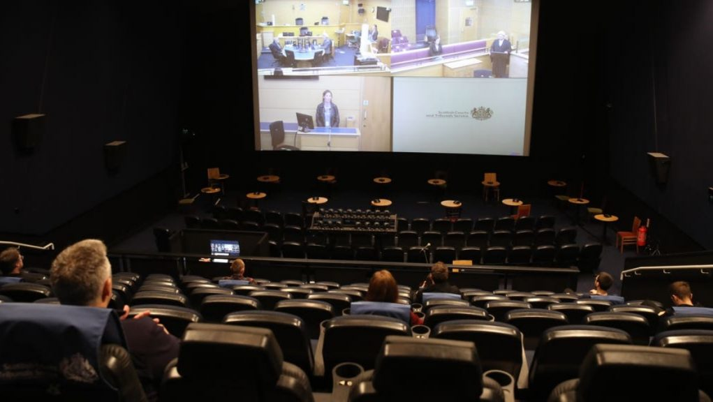 Cinema: Juries will be able to watch court cases remotely.