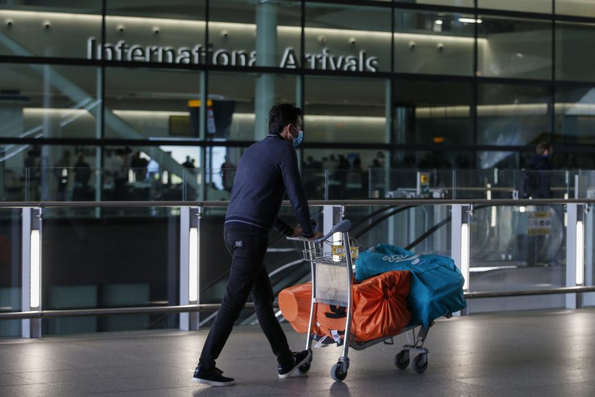 Quarantine: Some travellers will have to self-isolate in hotels.