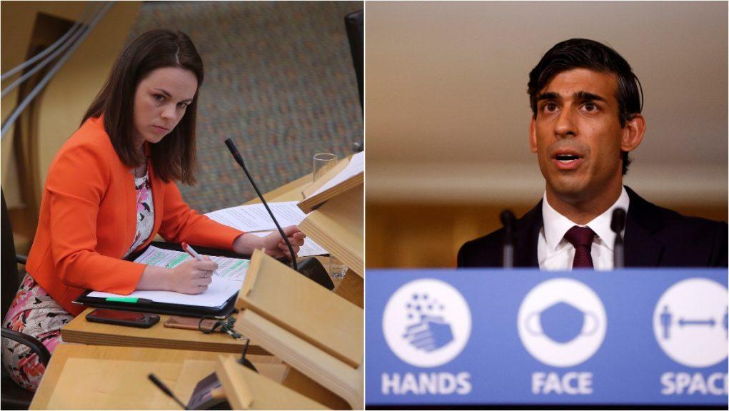 Kate Forbes has written to Rishi Sunak ahead of UK Budget.
