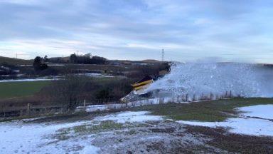 Rail plough