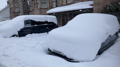 Snow, Braemar.