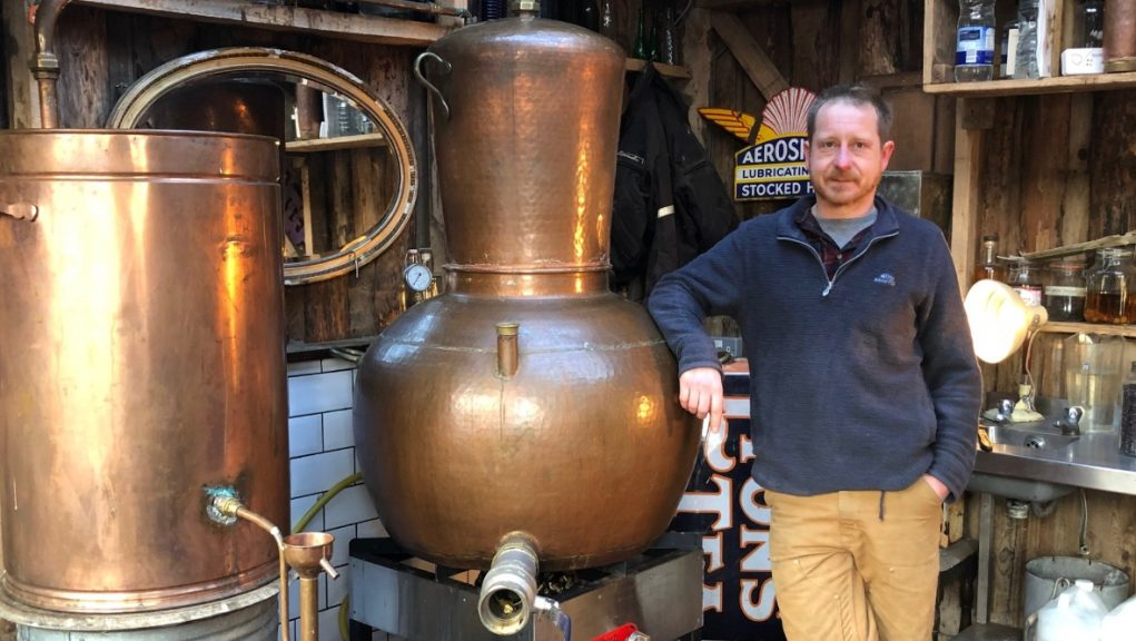 Brexit: Gin distiller Walter Micklethwait has suffered a double whammy.