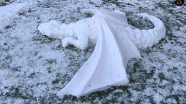 Ulianka Maksymiuk, snow dragon.