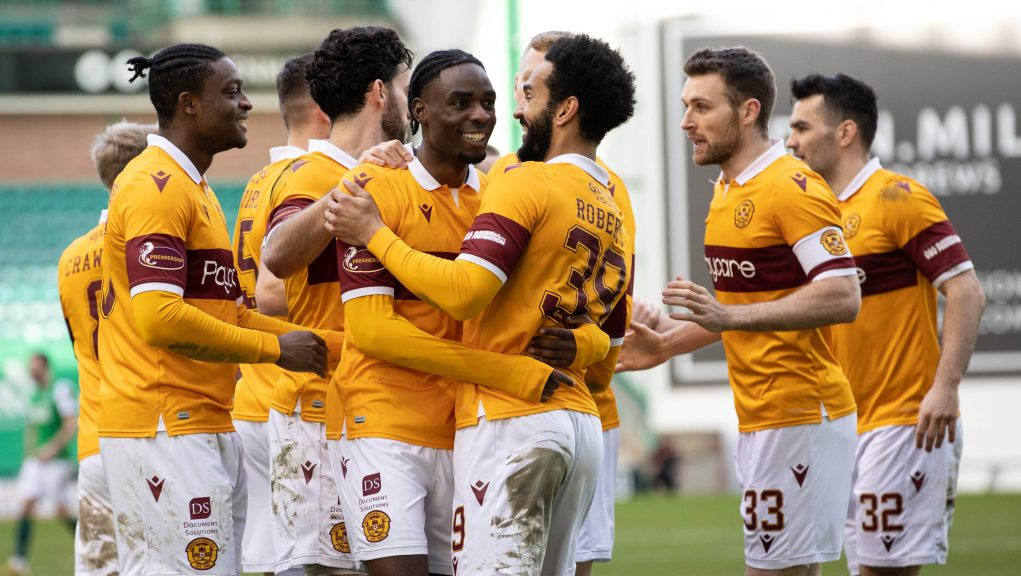 Motherwell claimed an important win.